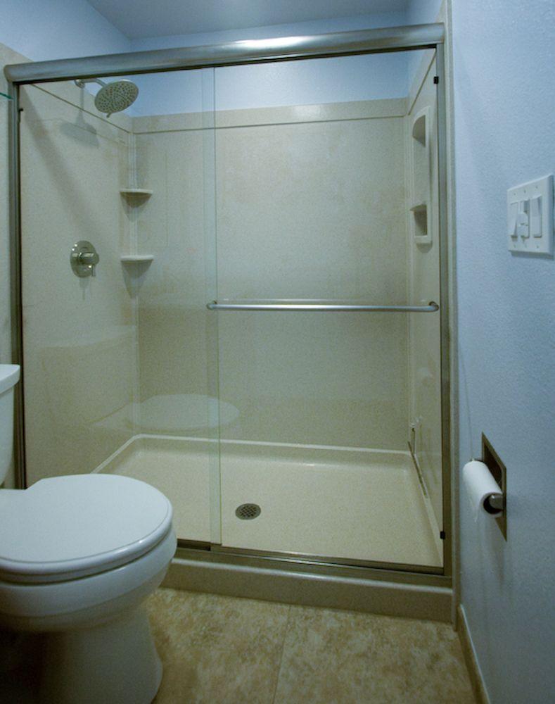 swanstone solid surface shower walls | Design | Pinterest | Shower ...
