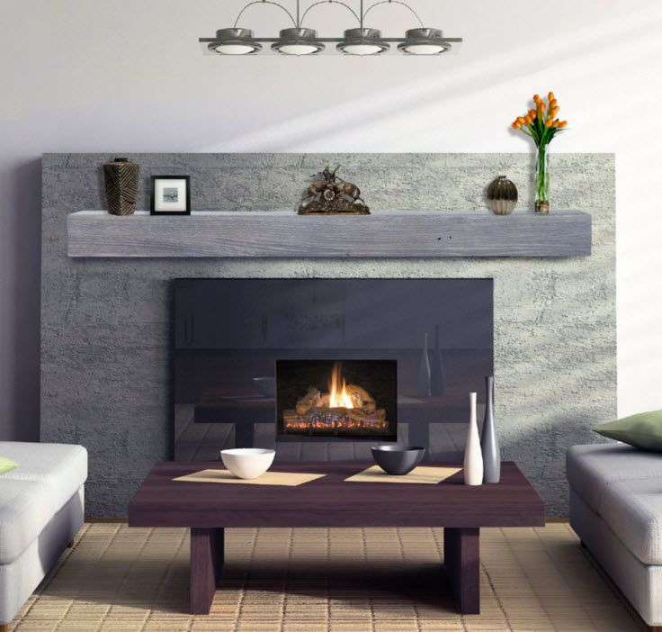 driftwood fireplace mantel - Google Search | Fireplaces ...