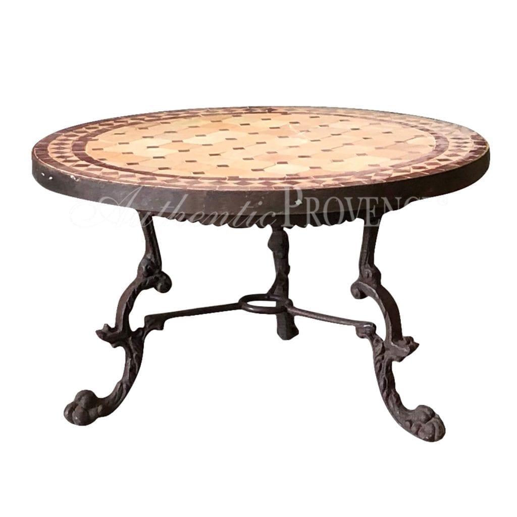Table Basse Syr Round Mosaic Table Fine Garden Antiques Mosaic Table Table Round Side Table [ 1024 x 1024 Pixel ]