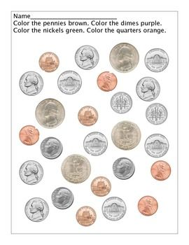 Coin Identification (through colors) | Educational
