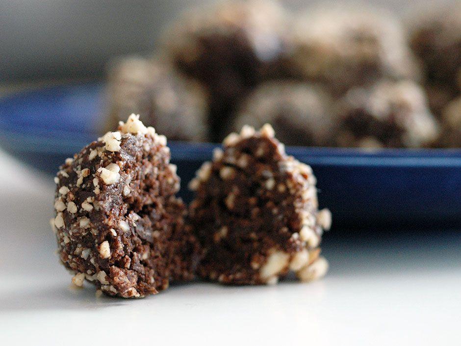 raw food bollar recept