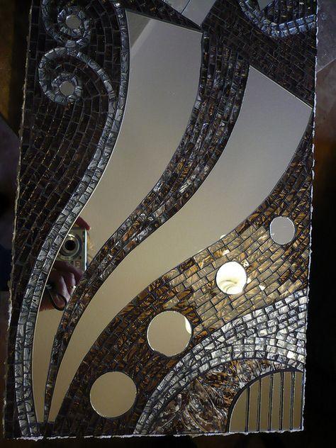 Mirror Prelude Detail Mozaic Sanati Aynalar Vitray