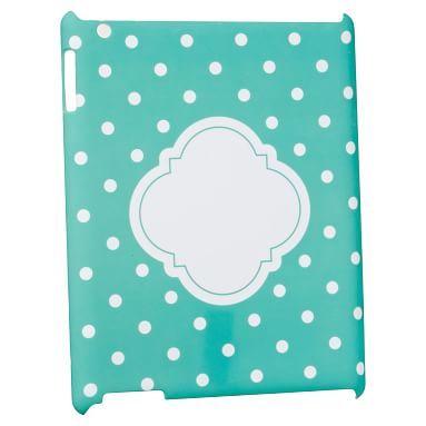 Girls Tablet Case, Pool Dottie
