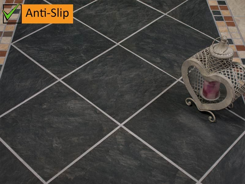 Kalahari Midnight Anti Slip Ctm Tiles Loft Flooring