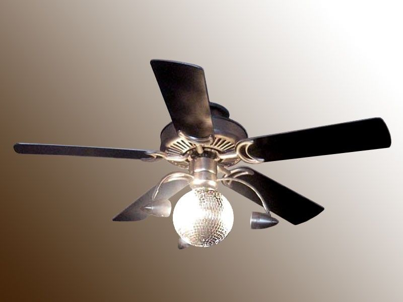 60 Spyder Chrome And Crystal Circles Led Ceiling Fan 64p73