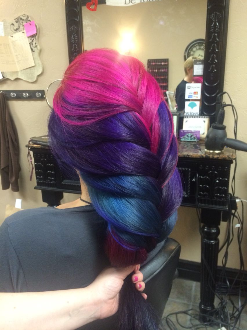 Pravana vivids magentaviolet and blue by ali styleseat