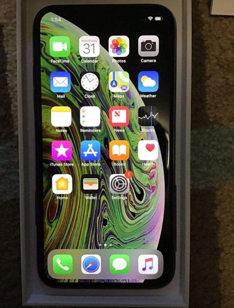Apple Iphone Xs Max 512gb Gold Unlocked A1921 Cdma Gsm