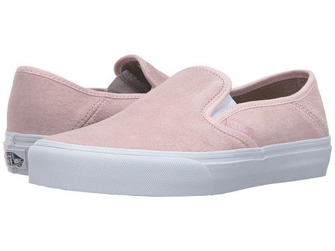 f41db5538f033d Vans Slip-On SF Dusty Rose White - Zappos.com Free Shipping BOTH Ways