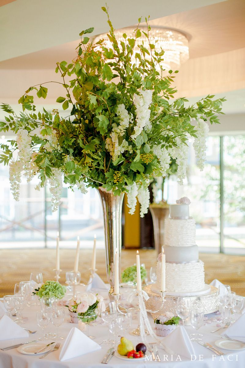 Silk Flowers Mixed With Real Foliage Emily And John Pinterest