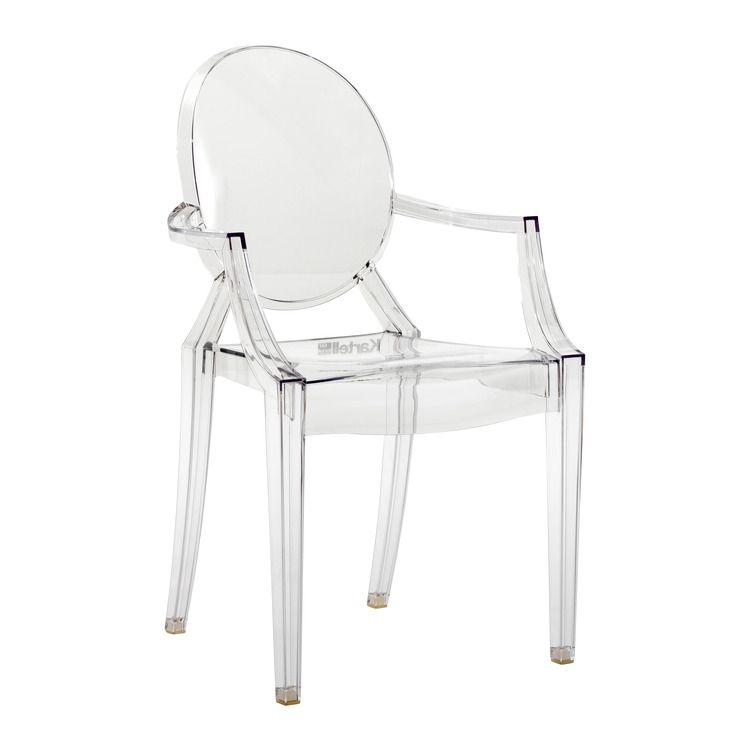 KARTELL, Chaises \ poufs - Louis-Ghost Chaise - 0024078 Salle à - salle a manger louis