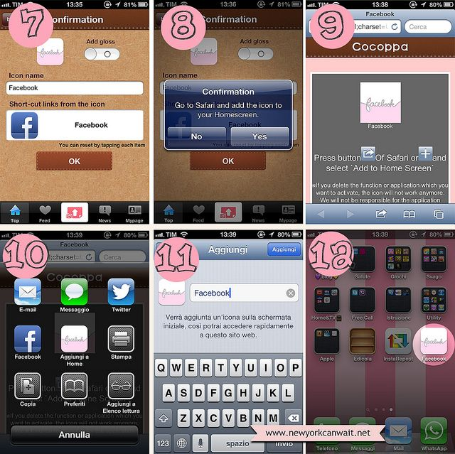 TUTORIAL 2 cocoppa app iphone personalize your iPhone by New York can wait...