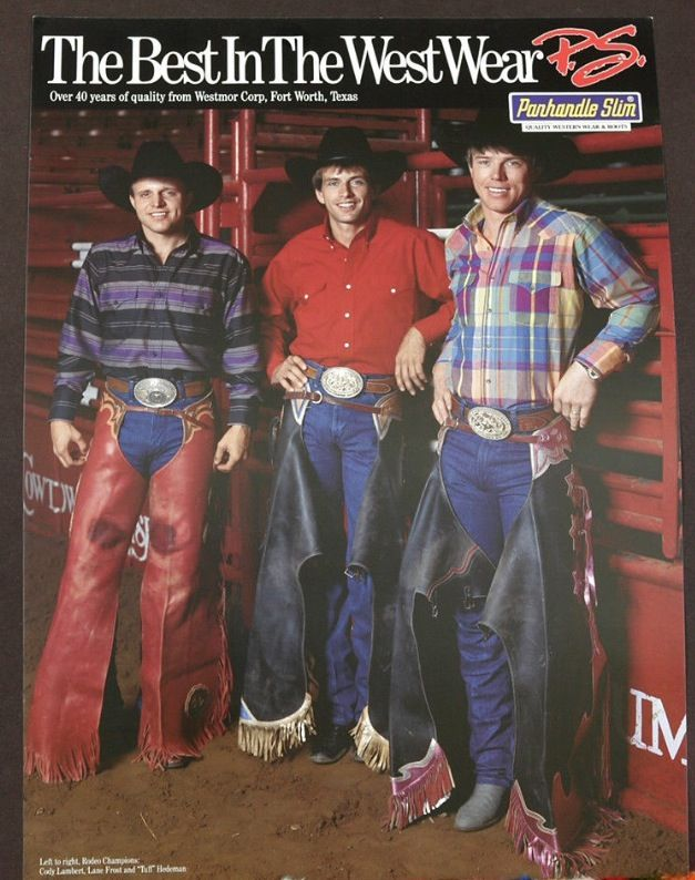 Cody Lambert Lane Frost Tuff Hedeman Rodeo Cowboys