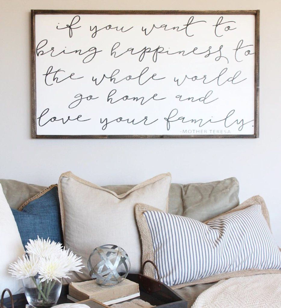 If you want to bring happiness living room decor living room