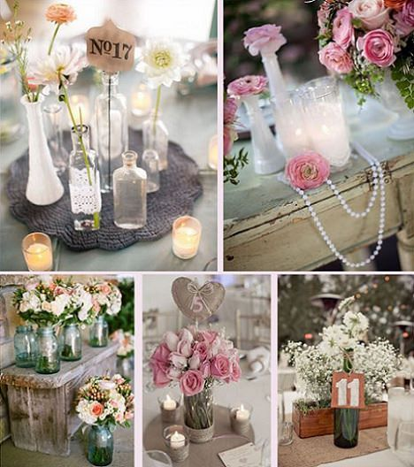 Ideas decorar para una fiesta de boda vintage decoraci n for Decoracion vintage boda