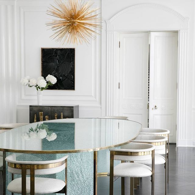 Dining Room Projects By Kelly Wearstler: Stradasphere. Xk #stradachandelier #interiordesign
