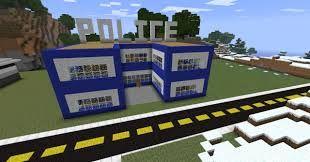 minecraft police station | minecraft | Minecraft houses