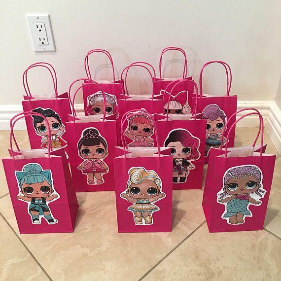 10 Lol Surprise Dolls Party Favor Bags Lol Party
