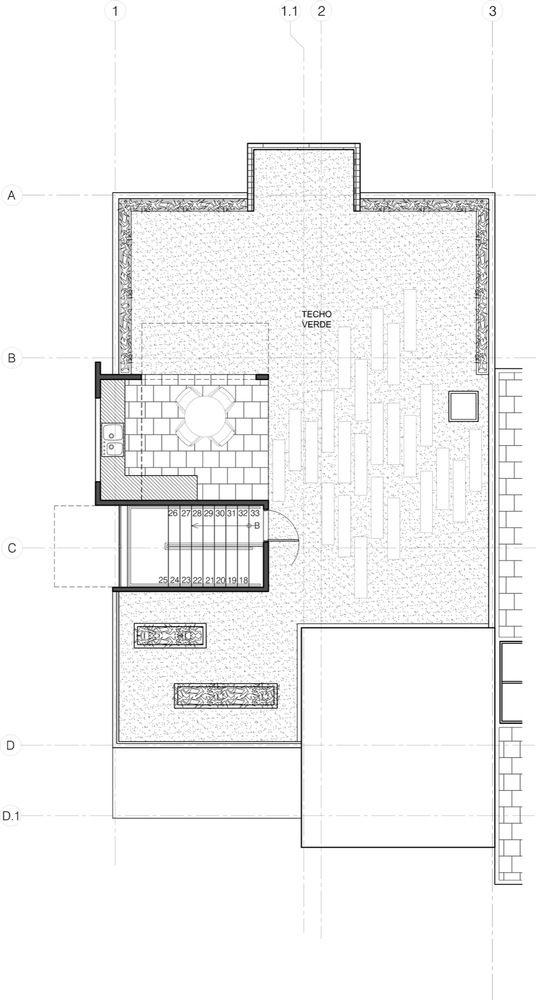 Galería de Casa Triciclo y Jardín Triciclo / People\u0027s Architecture