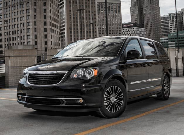 2013 Chrysler Town And Country S Is The Van In Black Chrysler