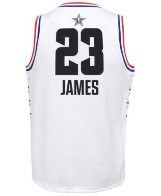 newest 610cb 14db1 Outerstuff Big Boys Lebron James Los Angeles Lakers All Star ...
