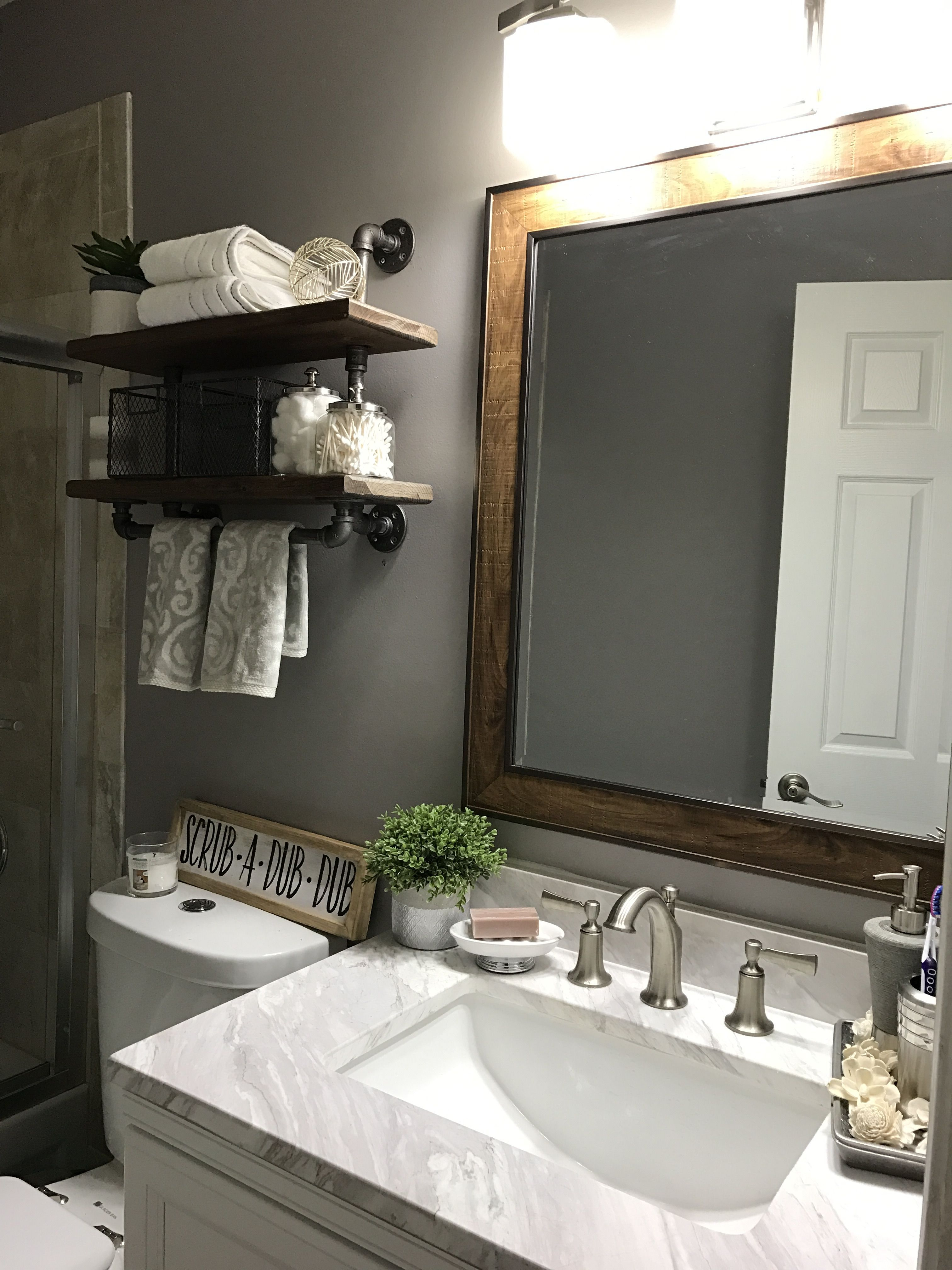 our small bathroom remodel on a budget  zuhause wohnen