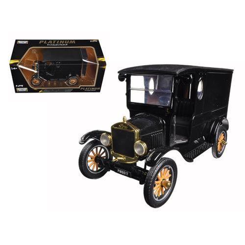 1925 Ford Model T Paddy Wagon Black 1 24 Diecast Model Car By
