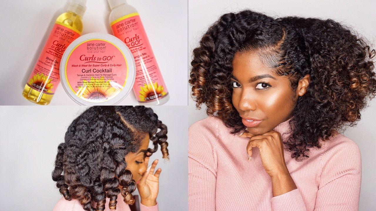 Minimize shrinkage u get big curly hair ft jane carter curls to go