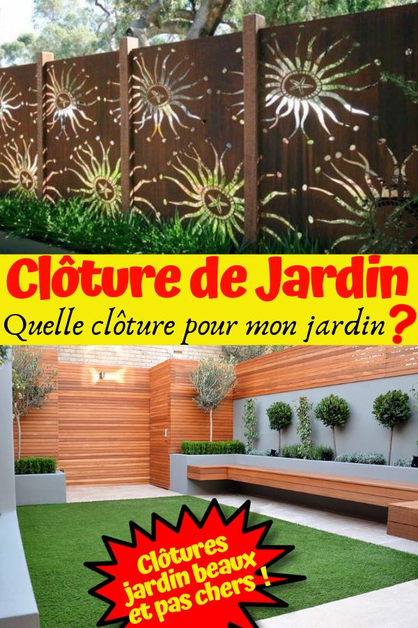 Cloture jardin moderne | cloture jardin moderne bois ...