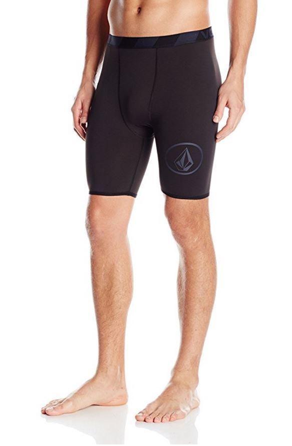 5656773ad1d0 Volcom JJ CHONES Rashguard Mens Swim Shorts Trunks Swimwear XXL BLACK  #Volcom #SwimBriefs