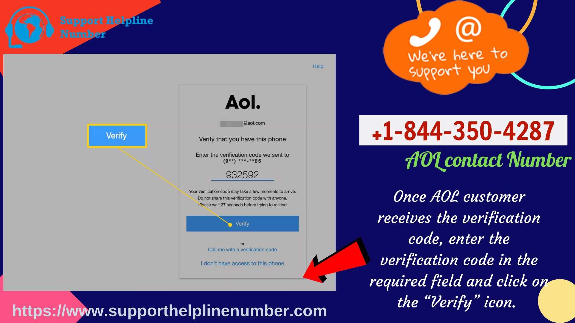 Reset AOL Email Password via AOL Customer