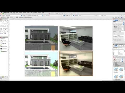 Gsg Vectorworks Renderworks 2016 2 Renderworks Camera Effects Vectorworks Camera Desktop Screenshot