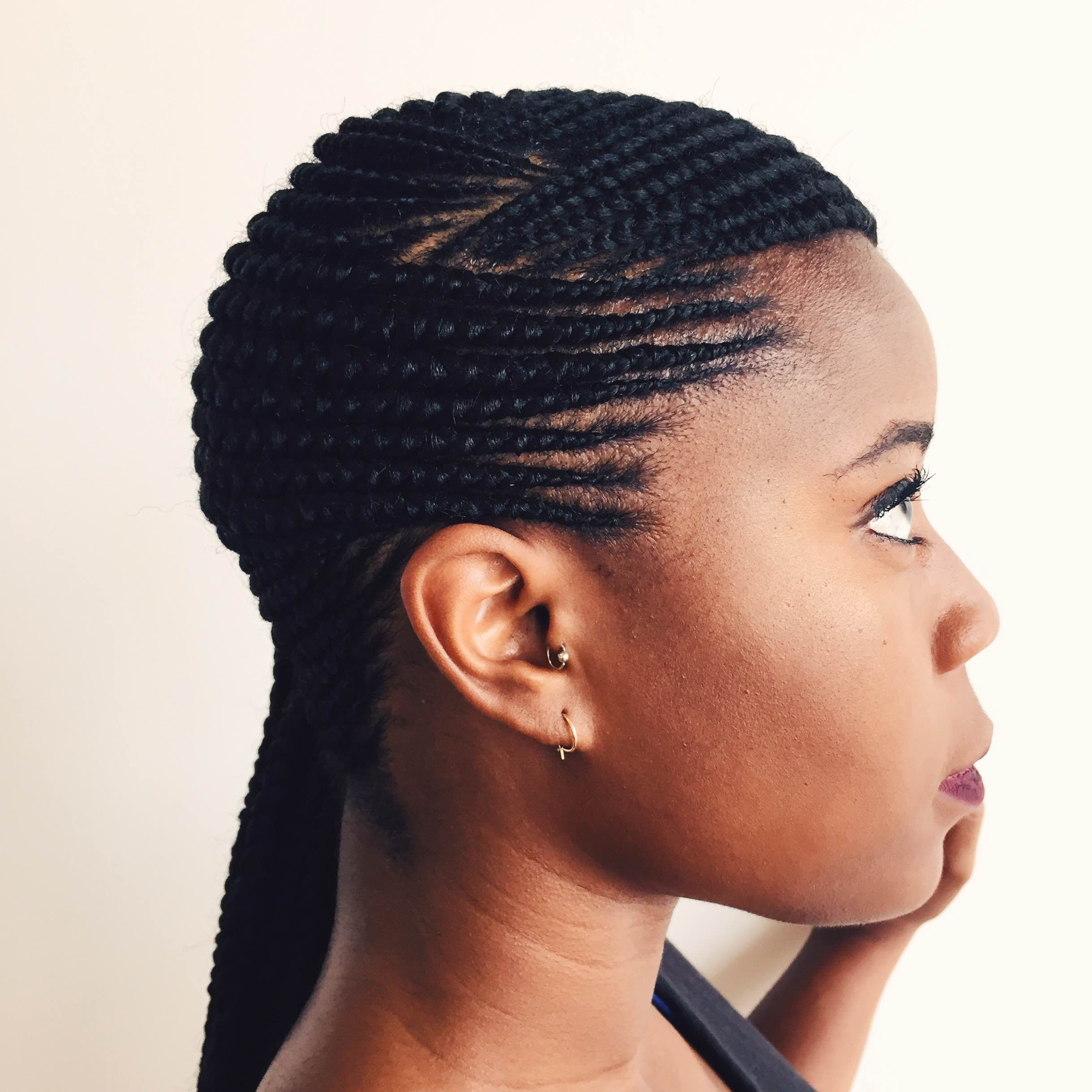 ghana braids - google search | braid here don't cair | pinterest