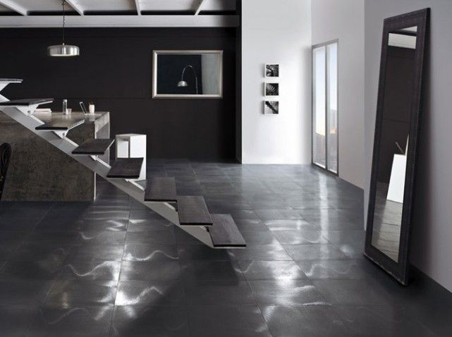 carrelage noir metallise | Sols & Tapis - Floors, tiles & carpets ...