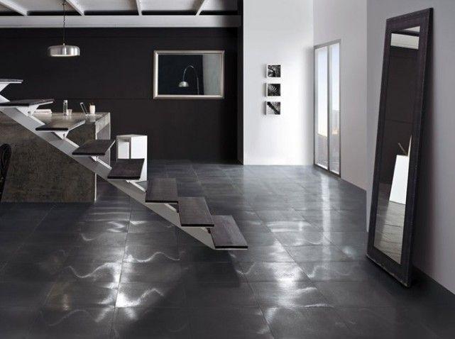 carrelage noir metallise | Sols & Tapis | Floors, tiles & carpets ...