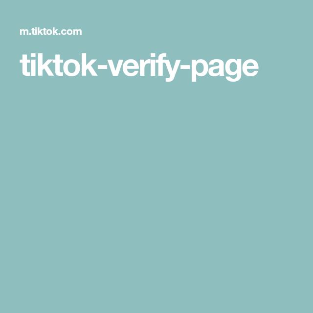 Tiktok Verify Page First Youtube Video Ideas Free Followers My Photo Album