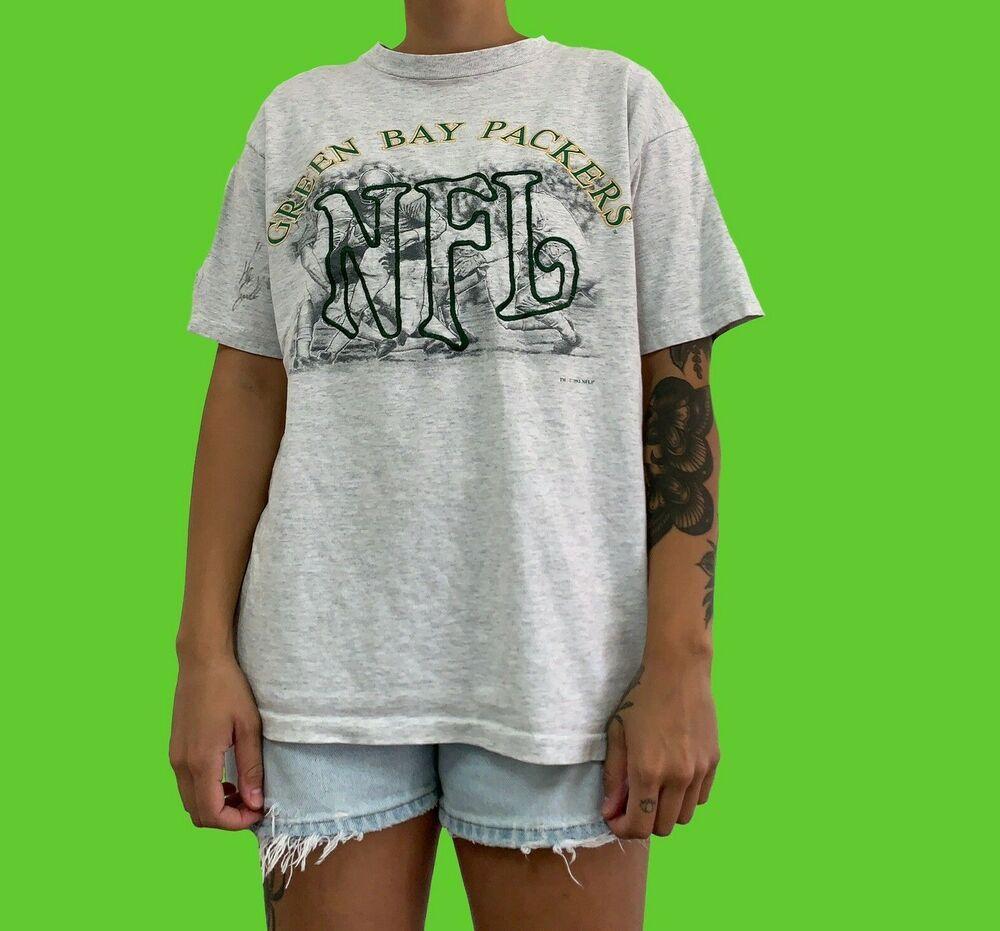 Green Bay Packers Shirt 1993 Vintage 90s Nfl Football Tshirt Nutmeg Mills Size M Nutmegmills Gre In 2020 Vintage Sportswear Green Bay Packers Shirts Football Tshirts