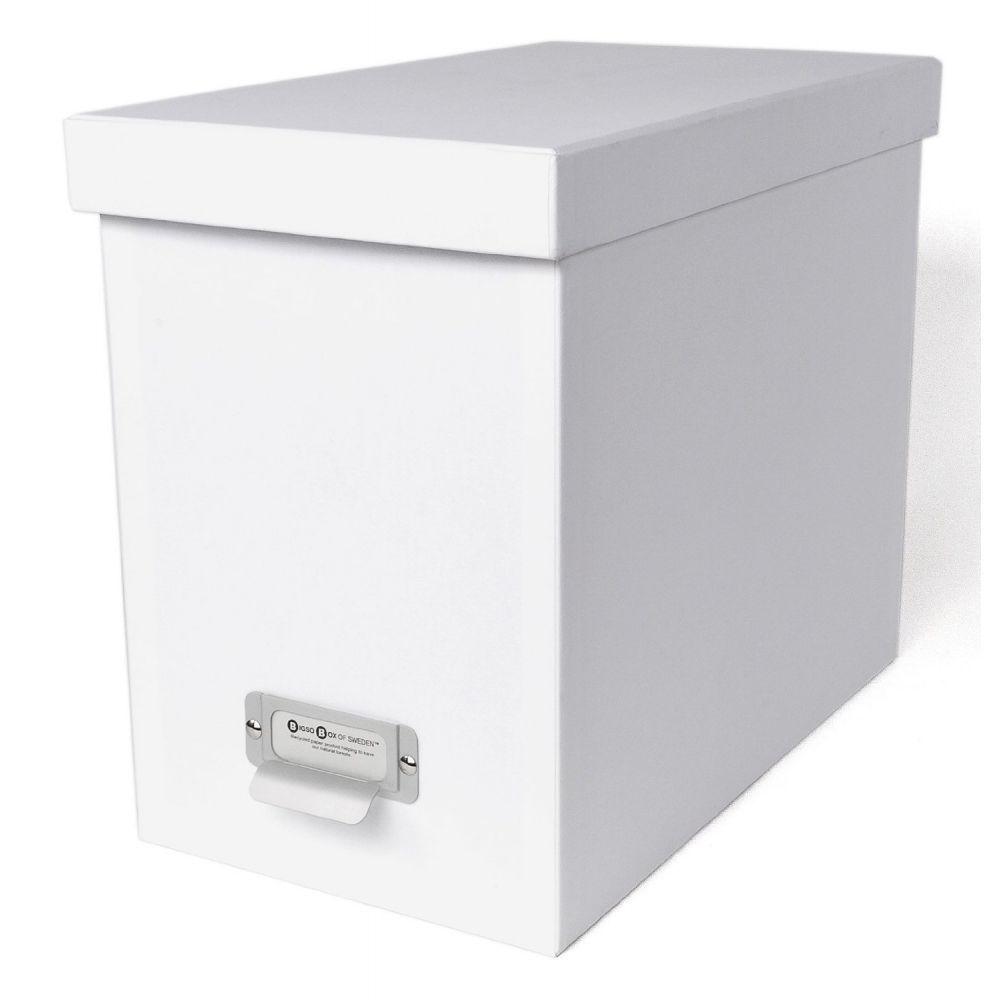 Bigso Box Boite Archives 8 Dossiers Suspendus Blanc Dossiers Suspendus Dossier Boite