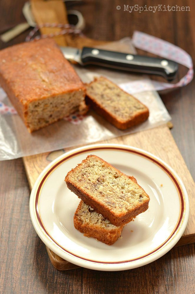 Banana Nut Bread Martha Stewart S Banana Bread Myspicykitchen Banana Nut Bread Sour Cream Banana Bread Best Banana Bread