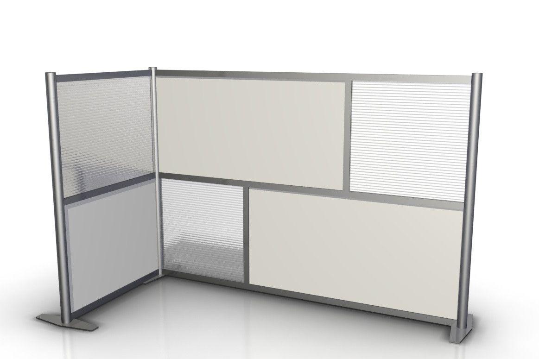 office devider. l-shaped office partition 75\ devider 9