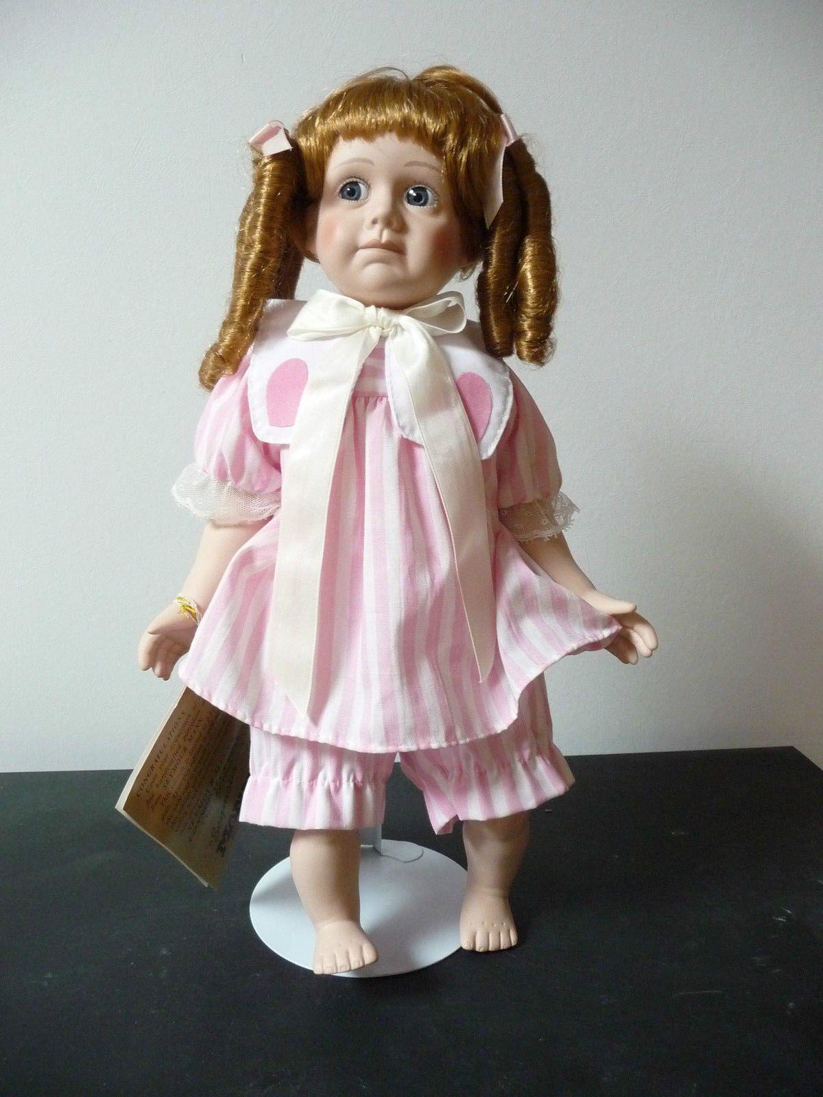 Porcelain Doll Collectable Seymour Mann Connoisseur