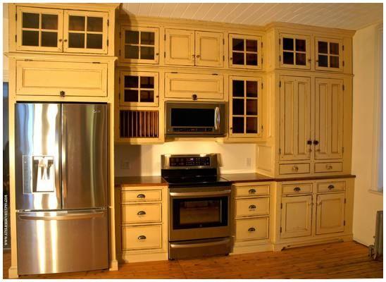 Fabricant et installateur d 39 armoires de cuisine et de for Armoire de cuisine antique