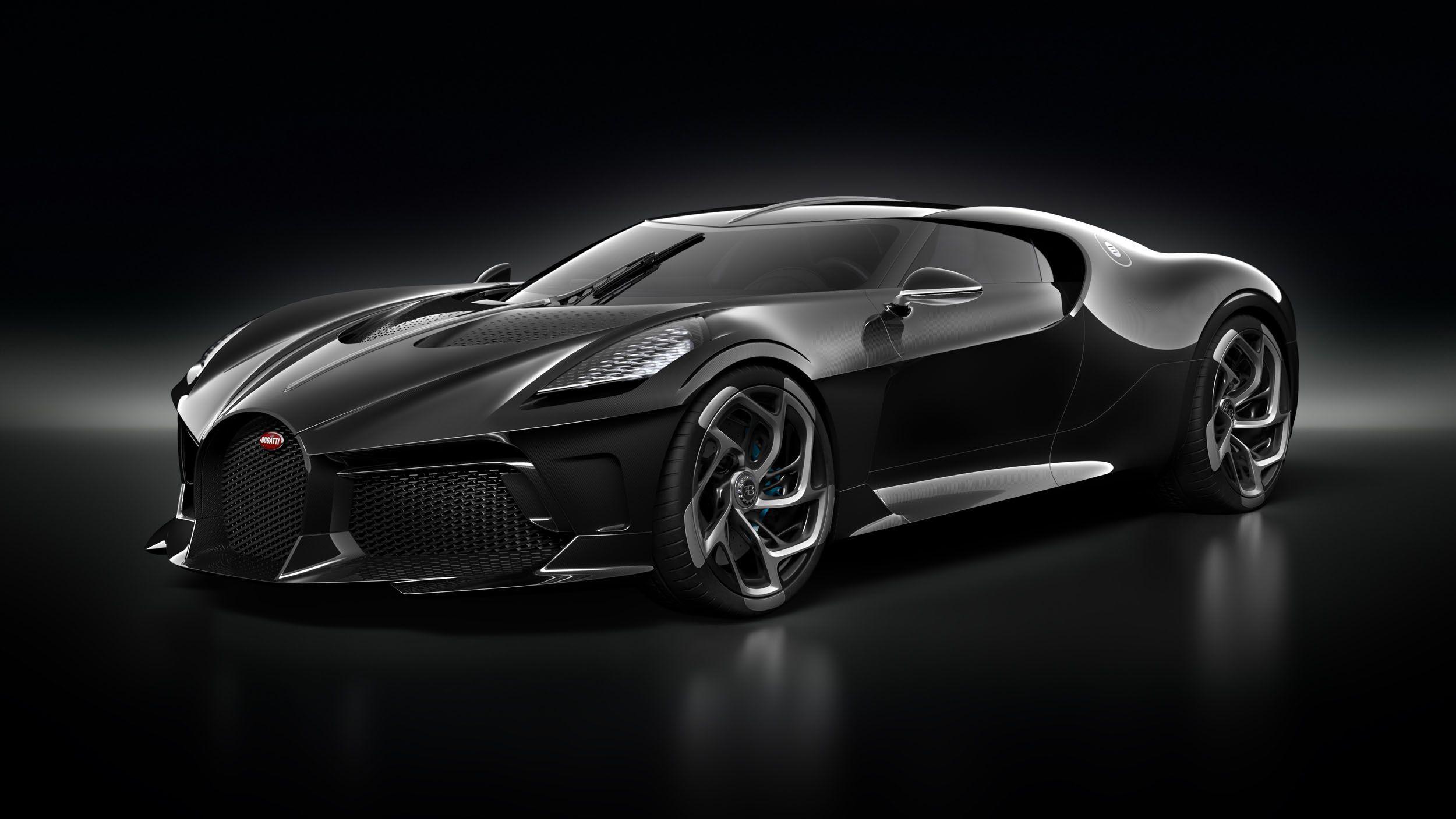 Bugatti La Voiture Noir Gets 12 5 Million Dollar Bonds To 57 Sc Atlantic Most Expensive Car Bugatti Expensive Cars