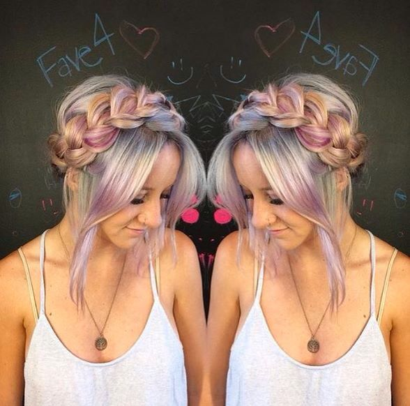 Pinks & silvers
