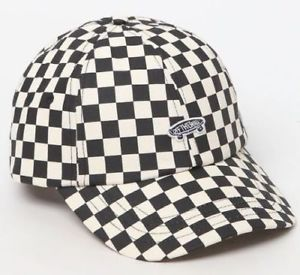 757e058d587 Vans-034-OFF-THE-WALL-034-Checkerboard-Black-And-White-Strapback-Hat-FREE-SHIPPING