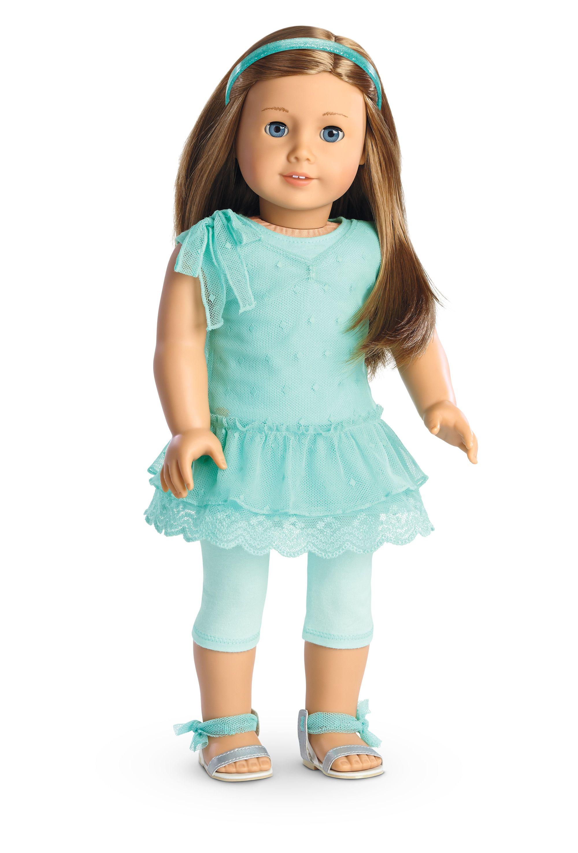 Spring Breeze Dress Set for Dolls