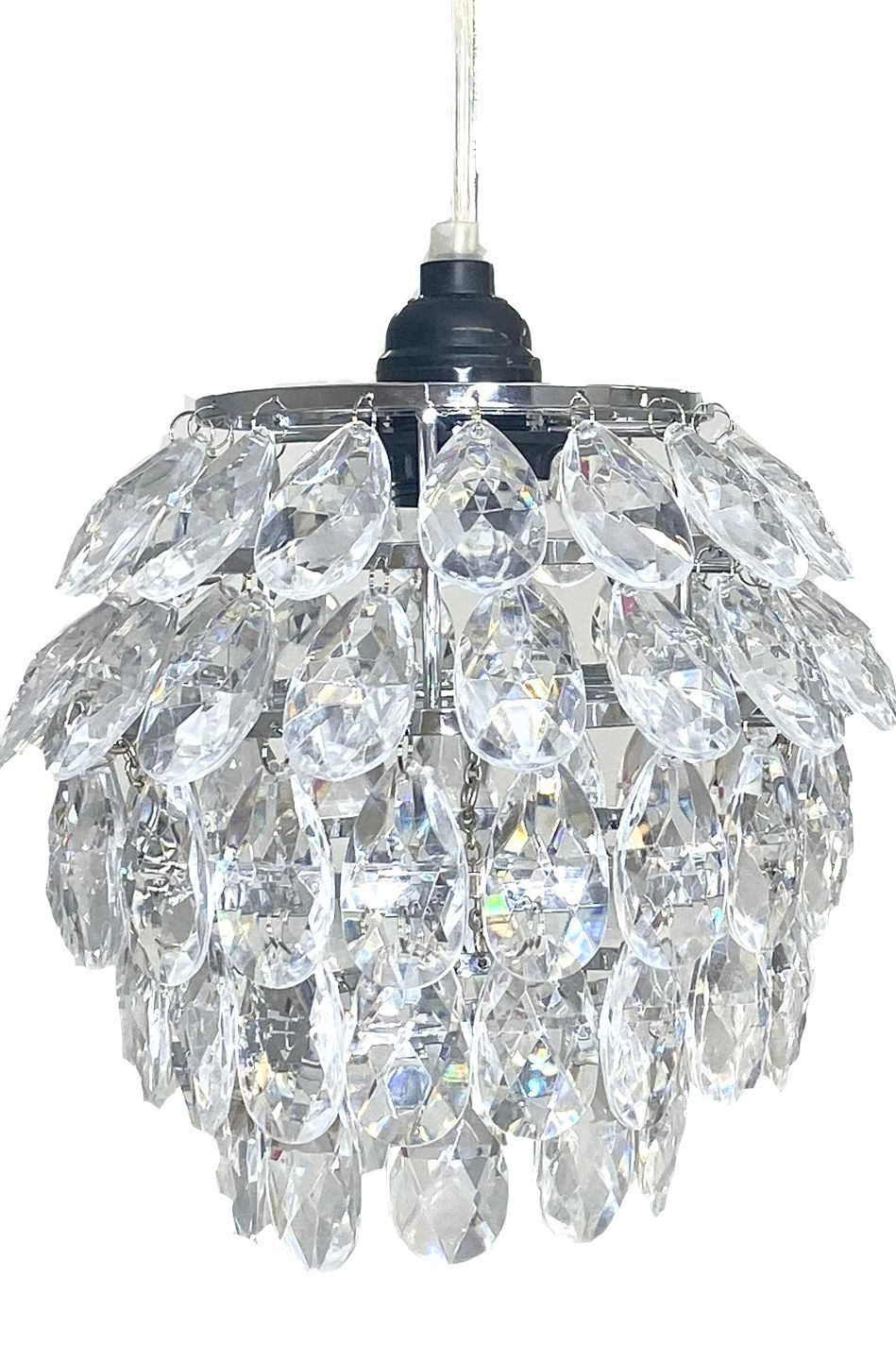 Chandelier Huge Pendant Beads 5 Tiers W Light Kit Centerpiece