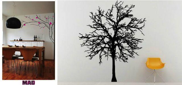 Wandtattoo: Ein Baum Füru0027s Schlafzimmer