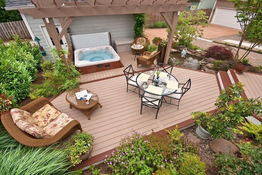 Learn How To Build A Ground Level Deck We Advise To Allow