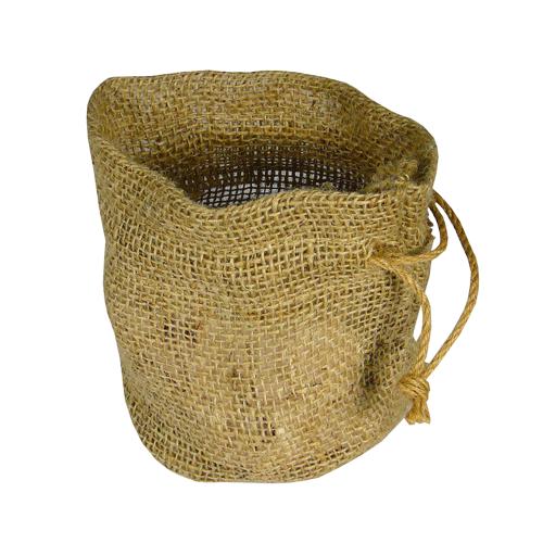 Burlap Plant Bag Natural 11 X 9 6 100 Jute Biodegradable