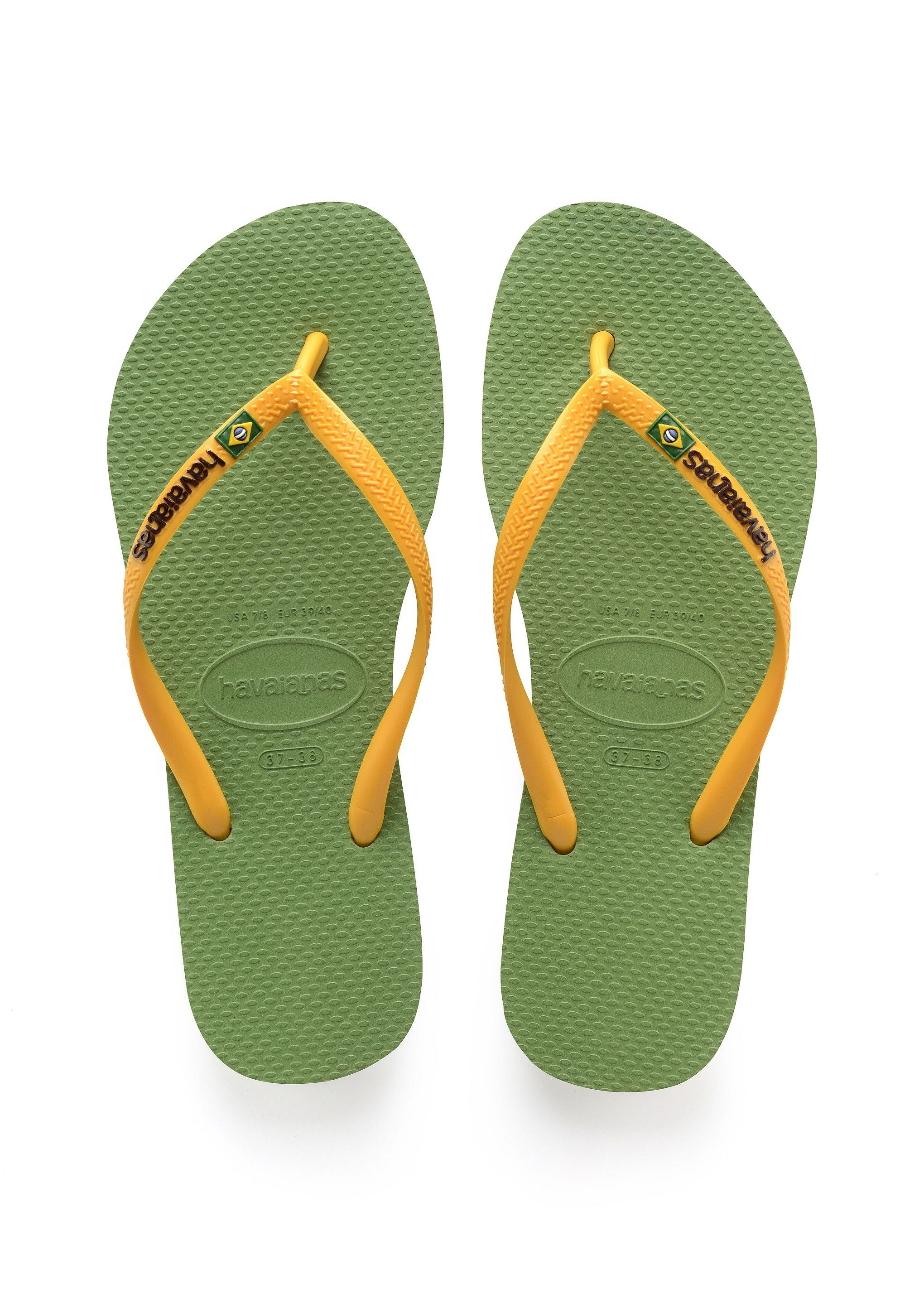613d5e7a772db Havaianas Slim Brazil Sandal Green Bamboo Price From  35